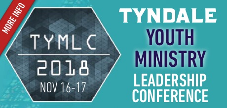 Tyndale Youth Ministry Leadership Conference - Nov 16-17, 2018